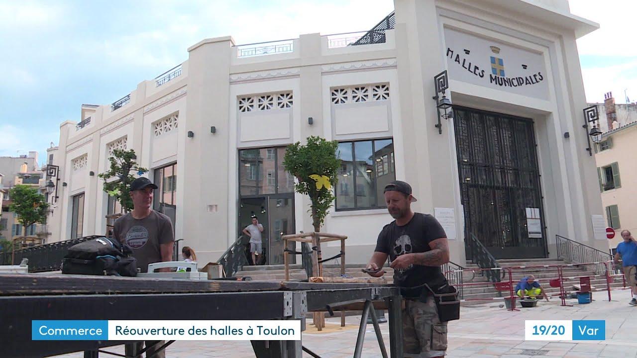 Toulon : Les halles marchandes de nouveaux ouvertes