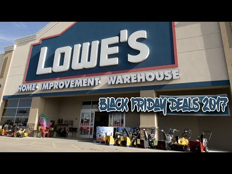 Lowe's 2017 Black Friday: Lowe's Black Friday Ad 2017