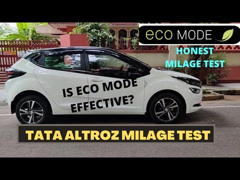 TATA ALTROZ MILAGE TEST| PETROL | ECOMODE |HIGHWAY AND CITY|USER REVIEW
