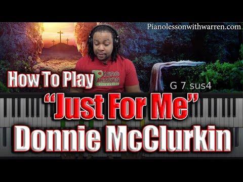 "#95: Donnie McClurkin - ""Just For Me"" Breakdown"
