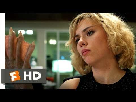 Lucy (8/10) Movie CLIP - Time Is The Answer (2014) HD