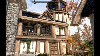Wind District Breezehome - Reborn - Skyrim Special Edition House Mod