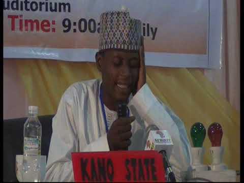 2015 Nigerian Musabaqa: Kano Tangeem. Male Participant