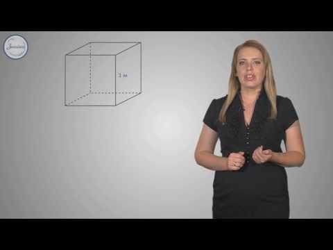 Объем куба. Соотношения между единицами объема