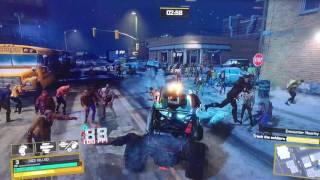 Video off-screen - Sfida: eliminare 1000 zombie in cinque minuti