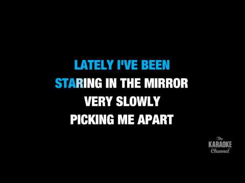 """Lately in the Style of """"Stevie Wonder"""" karaoke video with lyrics (no lead vocal)"""