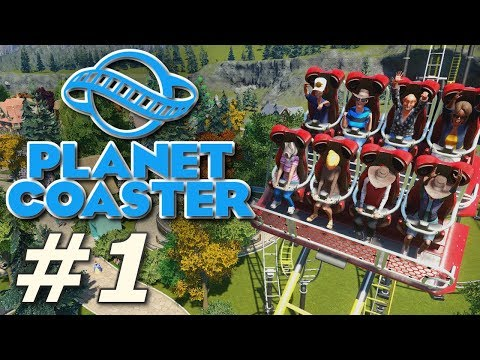 Planet Coaster - Heinrich's Hydeaway (Part 1)