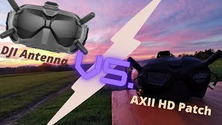Lumenier AXII HD vs. DJI Antenna Range Test! The WINNER is...?