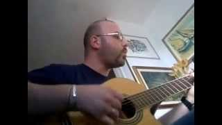 "Elvis Presley / The Cranberries - ""In the ghetto"" AndreaZ. guitar cover (26-05-2014)"