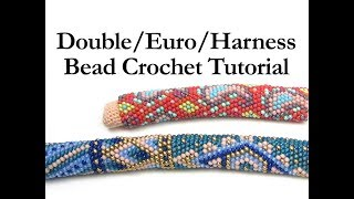 Double Euro Harness Bead Crochet Ann Benson