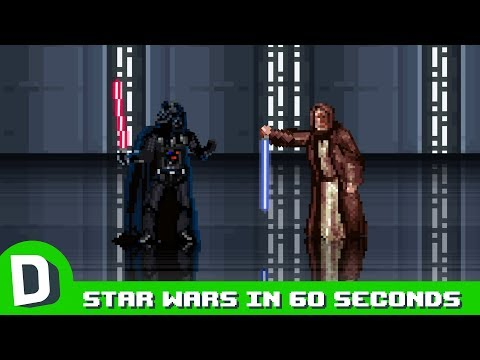 Jak mohly Star Wars skončit během 60 vteřin