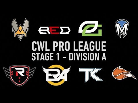 Watch the CWL Pro League Stage 1 - Division A starting January 23!