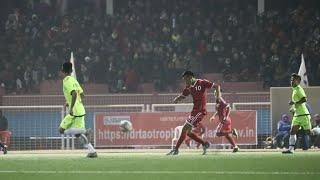Nagaland vs Manipur/match highlights/  Local derby/ Northeast Dr T Ao Trophy 2020/Five goal thriller
