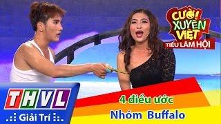 THVL | Cười xuyên Việt - Tiếu lâm hội | Tập 3: Bốn điều ước - Nhóm Buffalo