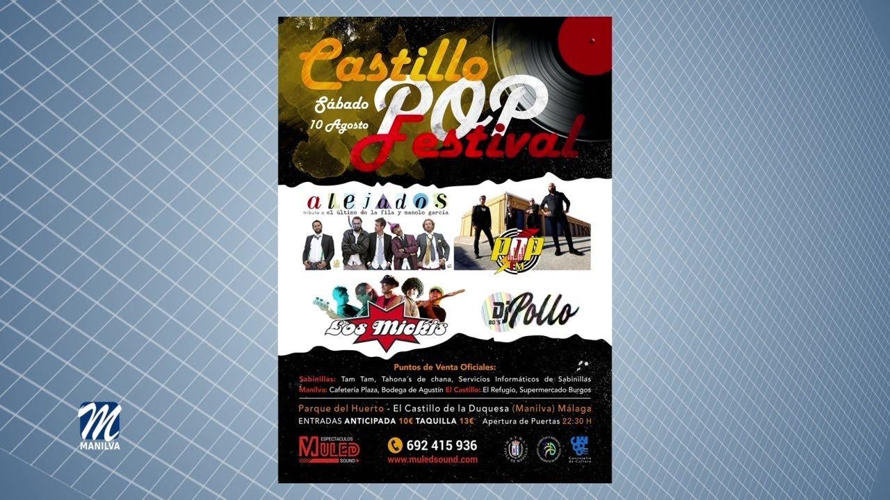 EL 10 DE AGOSTO LLEGA EL CASTILLO POP FESTIVAL