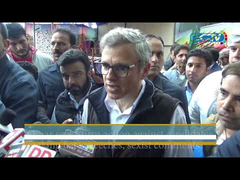 Omar seeks firm action against candidates making hate speeches, sexist comments