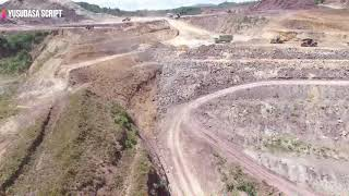 Pembangunan Bandar Udara Buntu Kunik Tana Toraja [ Drone ]