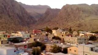 preview picture of video 'Amedia 500 Years old Minarete Climbing Sun Set Iraq Kurdistan Region August 2009 Part 1'