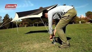 テントの設営方法 「ウェザーマスターⓇヘキサタープII」 | コールマン