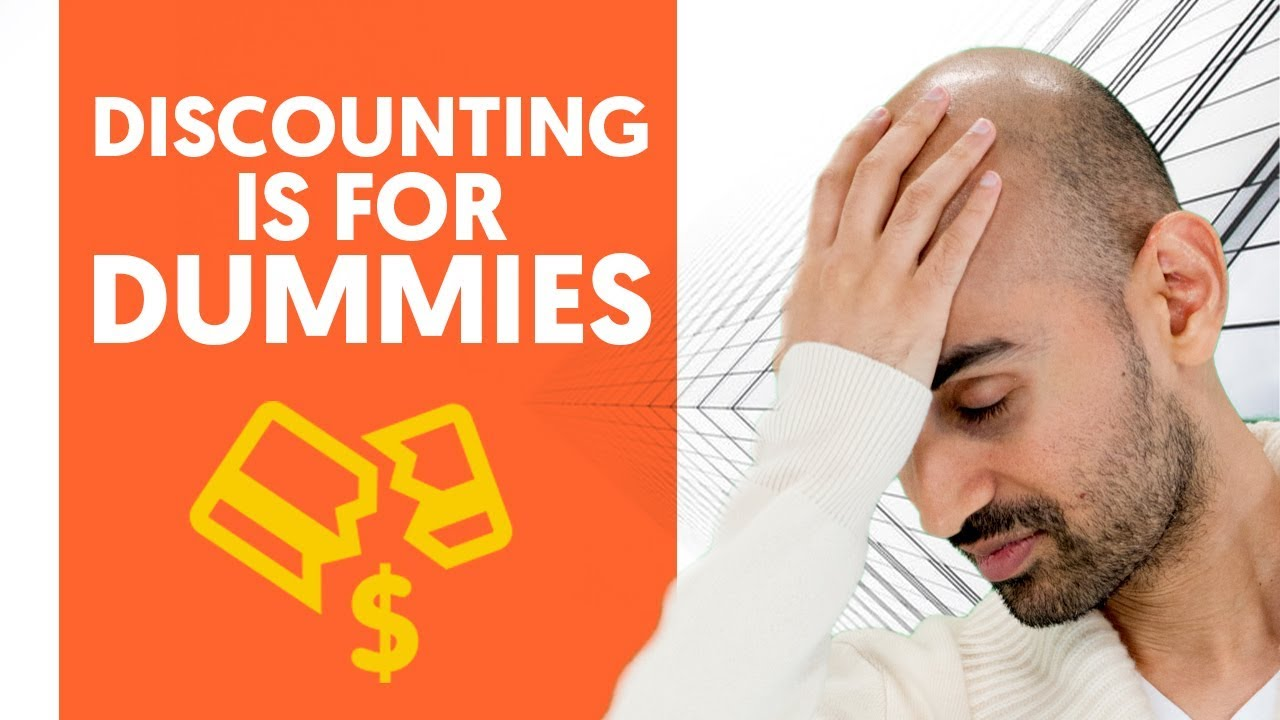 Discounting is for Dummies – Here's Why And What to Do Instead