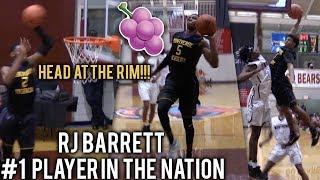 #1 PLAYER IN THE WORLD RJ Barrett GOES OFF In Montverde 50 Point Blowout! Mike Devoe Drops 26