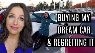 VLOG: I impulsively bought my dream car & regretted it