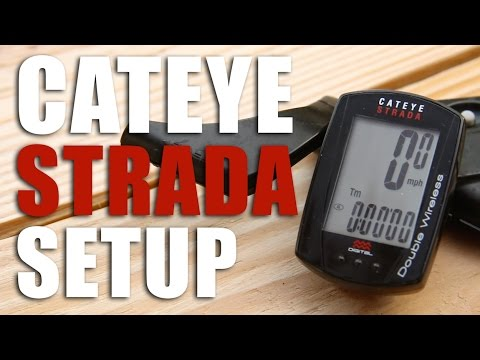 How To Setup A Cateye Strada Double Wireless Computer