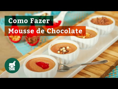 Mousse de Chocolate em Pó - Delícia