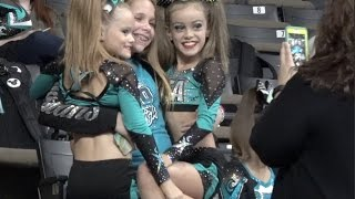 Cheer Extreme Showcase Day + C4 BOMBSQUAD!