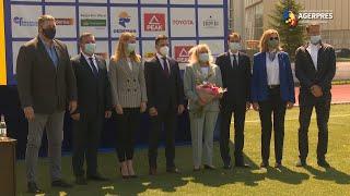 Atletism: Campioana olimpică Maricica Puică a primit Colanul de Aur din partea COSR
