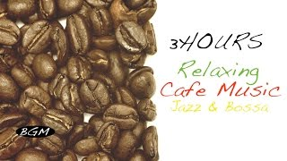 【3HOURS】Jazz & Bossa Nova Instrumental Music for RELAX!!Background Music!!