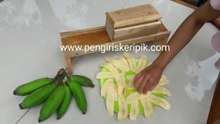 Mesin pengiris perajang pisang ukuran BESAR
