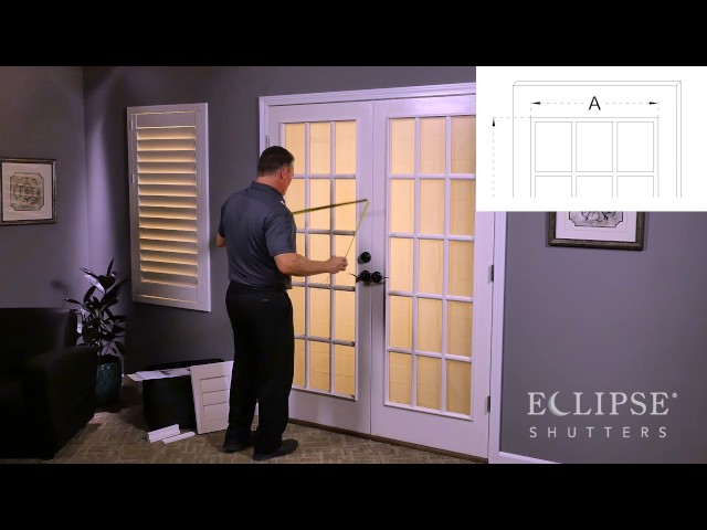 Measuring for French Door Cutout