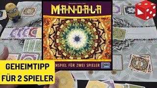 Mandala (Lookout Games 2019) Geheimtipp für 2 Spieler