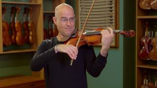 Violin by Ansaldo Poggi, Bologna 1935