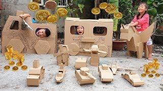 Trò Chơi Phú Ông Mua Nhà Xe ❤ ChiChi Kids TV ❤ Đồ Chơi Trẻ Em