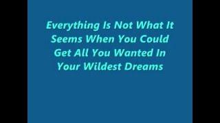 Everything Is Not What It Seems Exact Lyrics