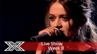 Gambar cover Emily Middlemas rocks out to Rag 'N' Bone Man's Human | Live Shows Week 8 | The X Factor UK 2016