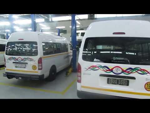 SA Taxi office tour