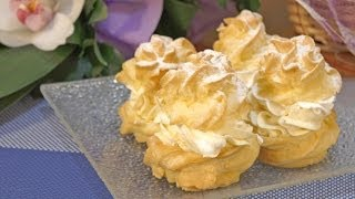 Princes krofne - Profiterole - Cream Puffs