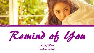 Chungha - Remind of You