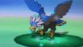 Braviary  - (Pokémon) - [NQ #1] Live Shiny Braviary After 1,169 REs! (Pokemon White)