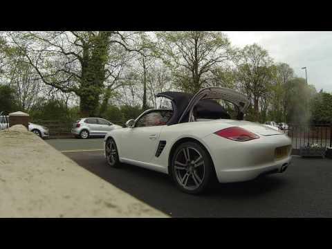White Porsche Boxster s 3.4 987 Gen 2    MY2010
