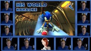 "Sonic the Hedgehog - ""His World"" KARAOKE Lyric Video [Acapella]"