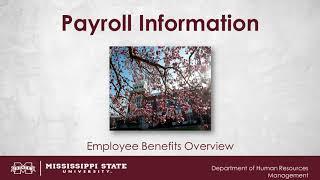 Payroll Information Video