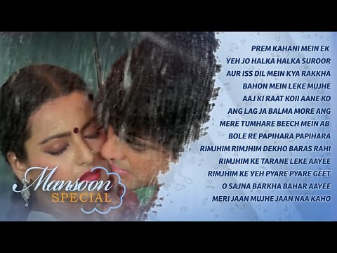 Monsoon Special Songs {HD} | Rain Songs Video Jukebox | Bollywood Romantic Songs