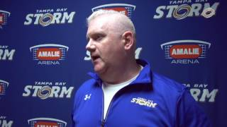 Hear from Coach James and DL Jordan Miller on our latest win