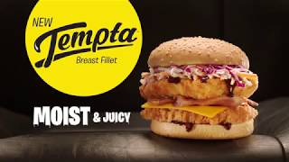 Chicken Treat Tempta Breast Fillet Burger – Moist and Juicy