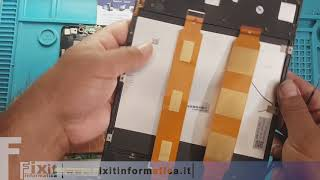 Asus   ZenPad 3S 10 Z500M sostituzione display - Display replacement - Disassembly