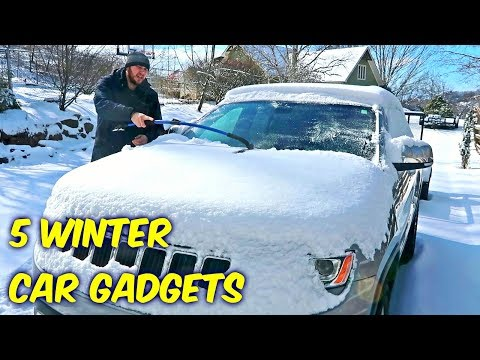 5 Winter Car Gadgets put to the Test!